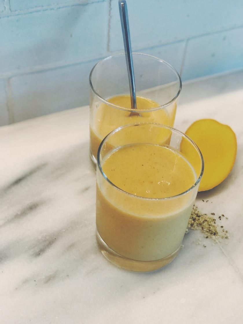 Mango Papaya Smoothie | Sweet & Sorrel