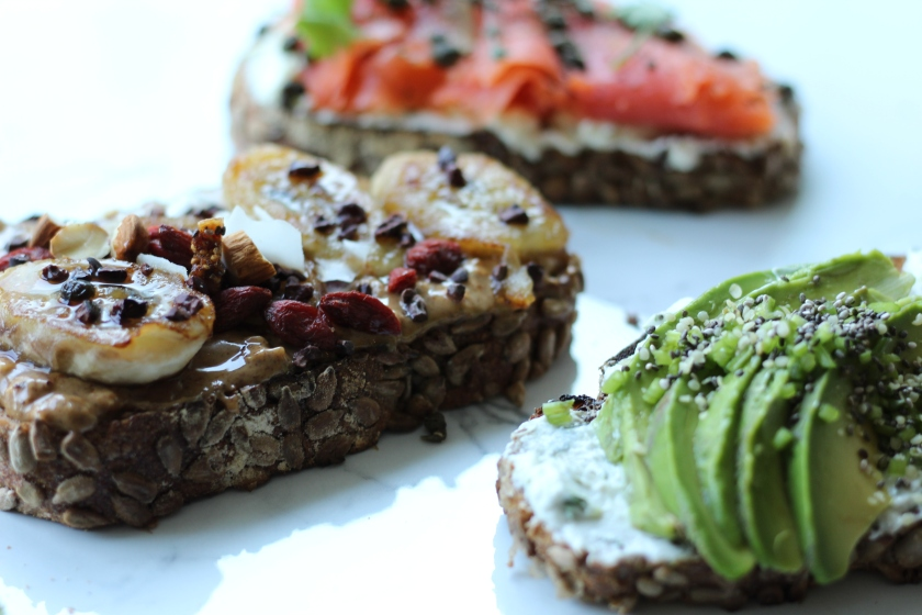 Breakfast Crostini 3 Ways | Sweet & Sorrel