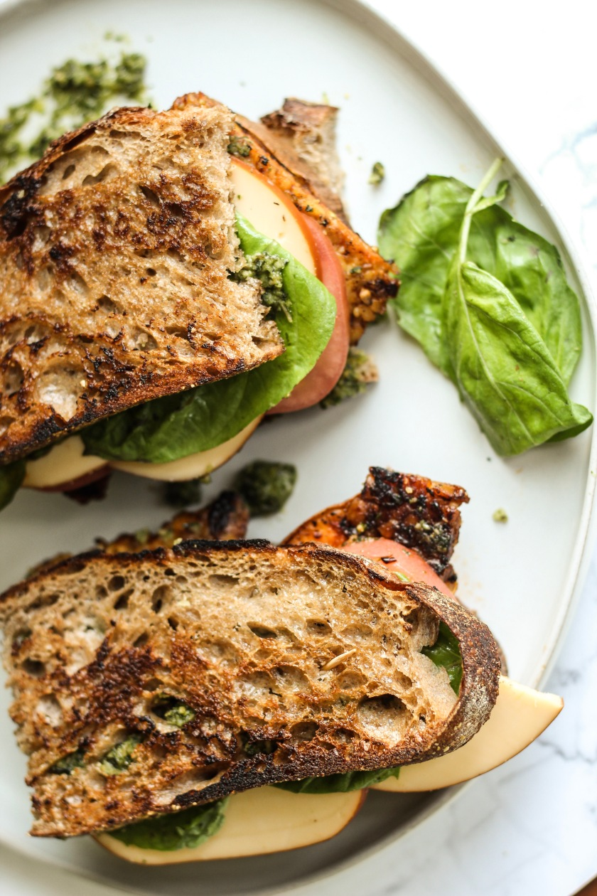 Sweet Potato Tempeh Sandwich | Sweet and Sorrel