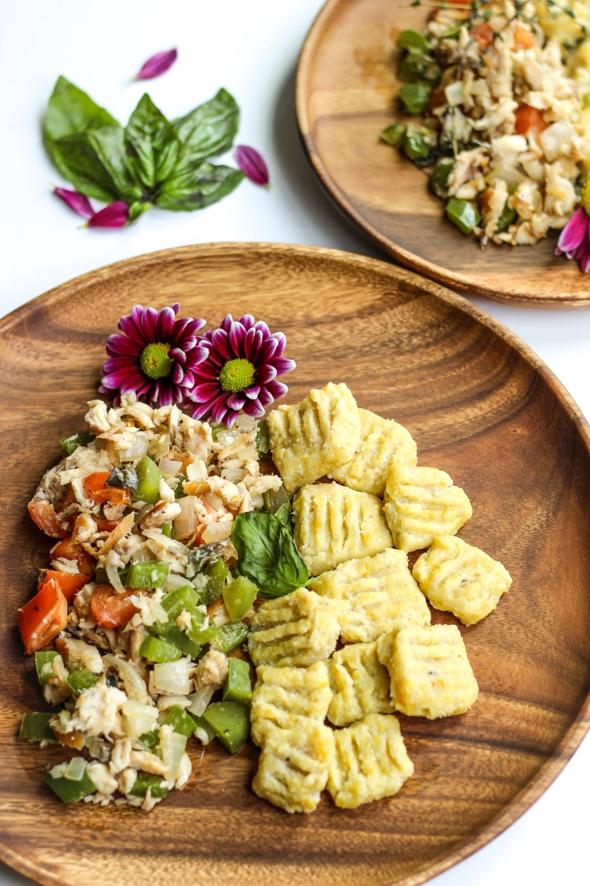 Ackee & Saltfish with Plantain Gnocchi | Sweet & Sorrel