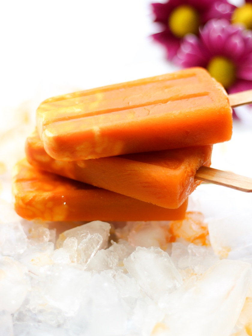 Carrot Yogurt Popsicles | Sweet & Sorrel