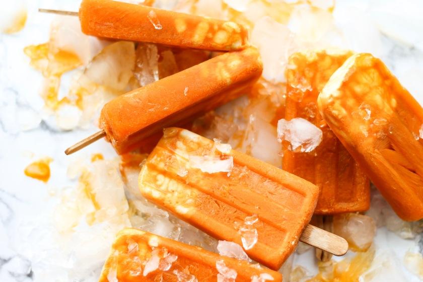 Carrot Yogurt Popsicles   Sweet & Sorrel