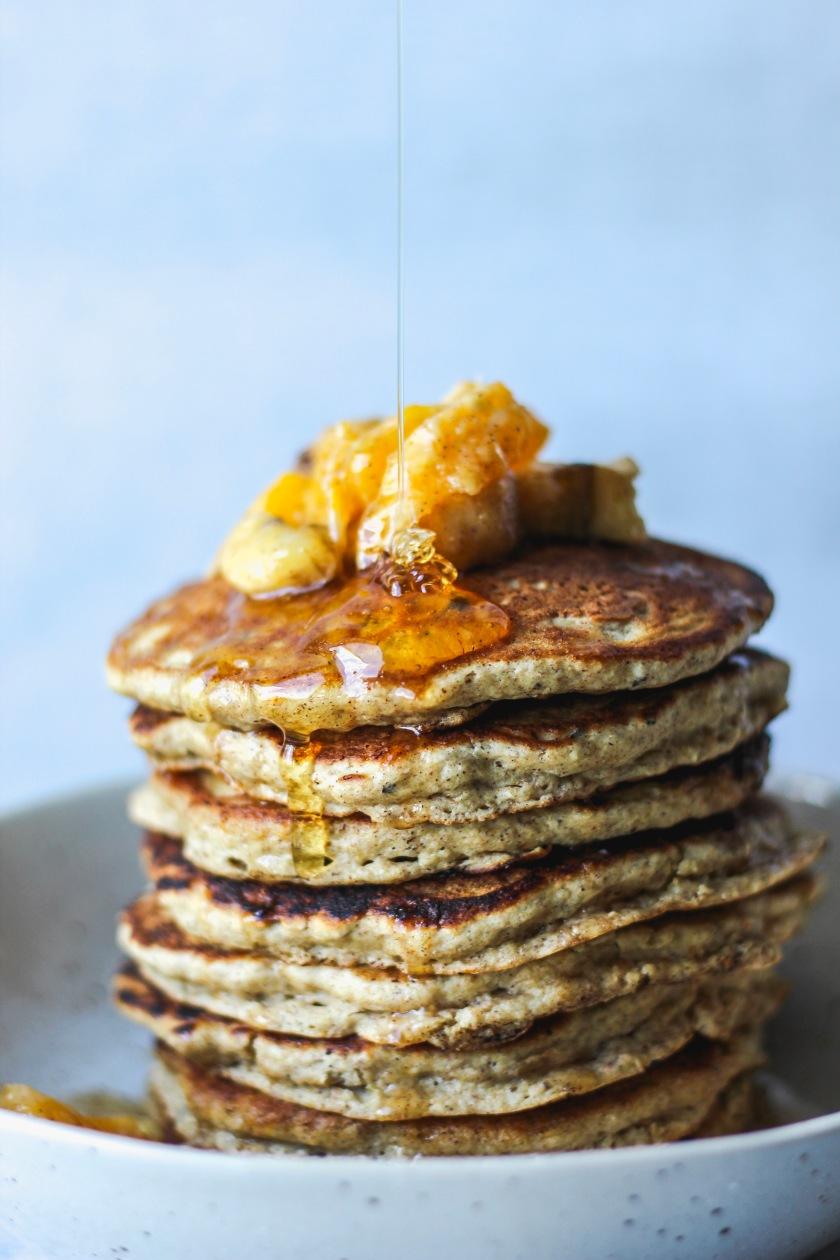 Banana Citrus Pancakes | Sweet & Sorrel