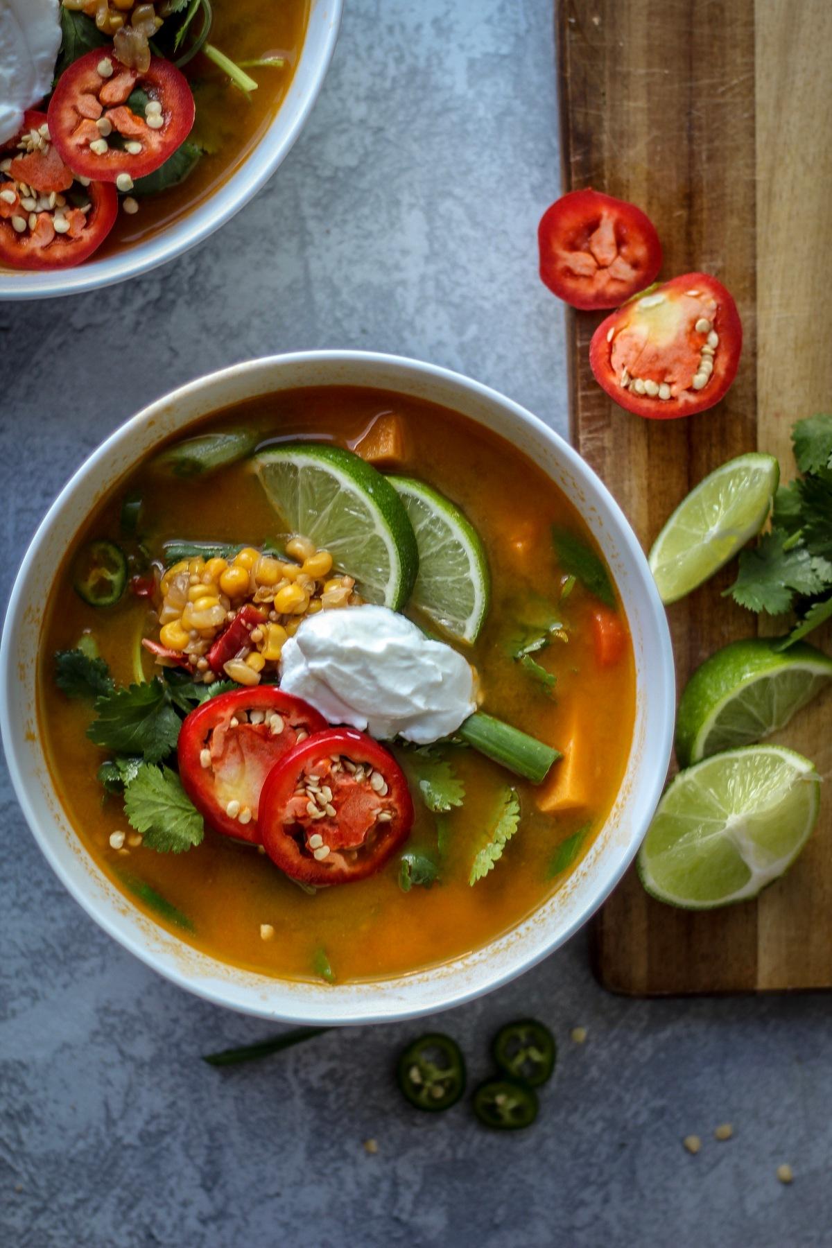 Soup Joumou | Sweet & Sorrel