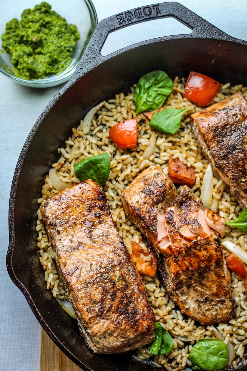 Skillet Jerk Salmon | Sweet & Sorrel